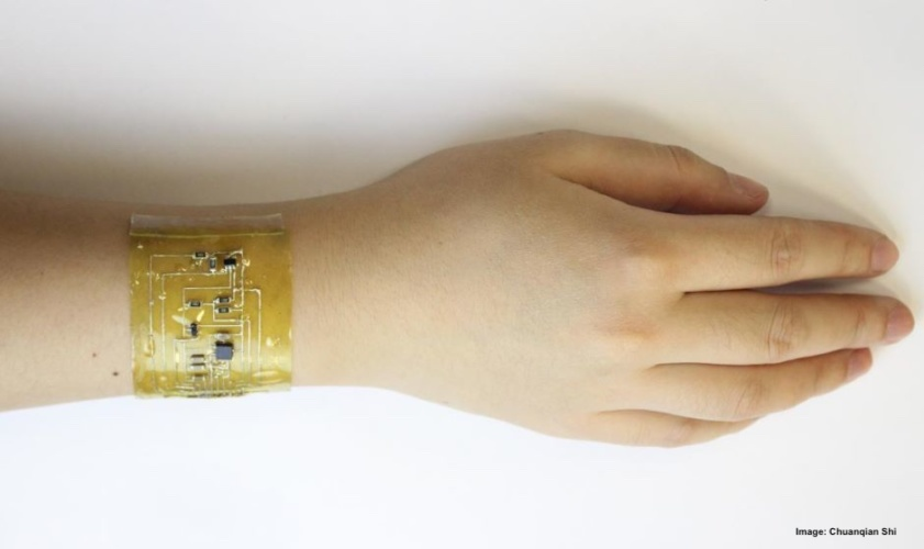 "Researchers Say ""Electronic Skin"" Can Measure Health Data"