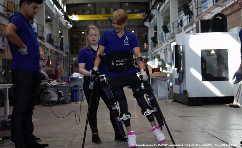 University Students Improve Their Robotic Exoskeleton