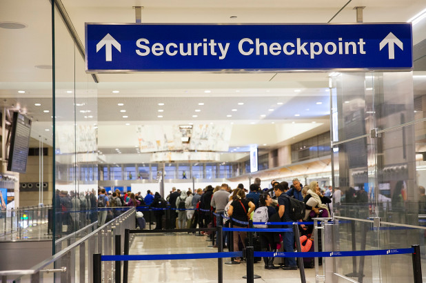 Travel Information: TSA Security Checkpoint