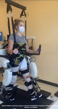 Exoskeleton Helps Injured Teen Walk Again