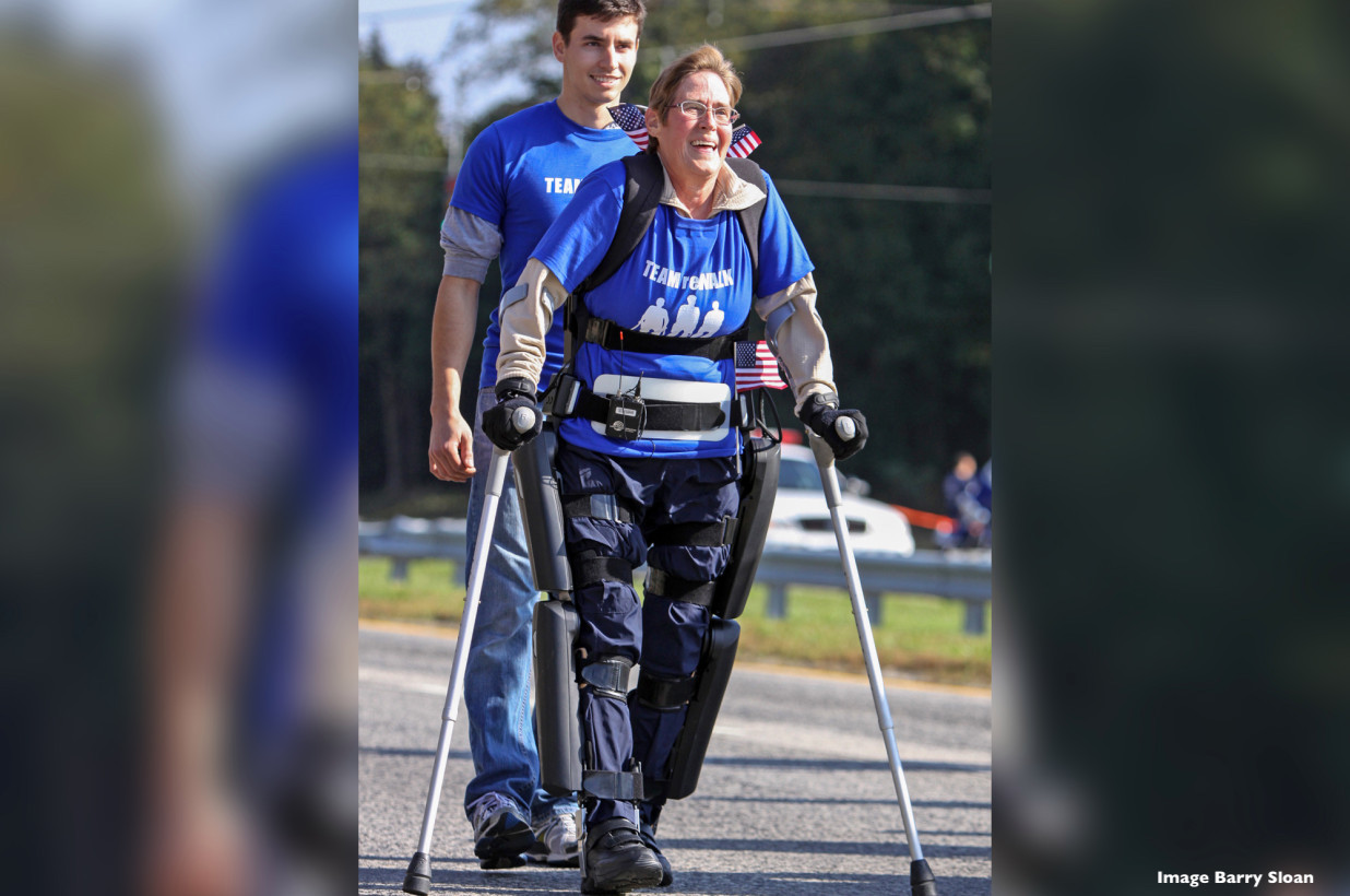 Paralyzed Woman Will Use Exoskeleton To Participate in N.Y. Marathon