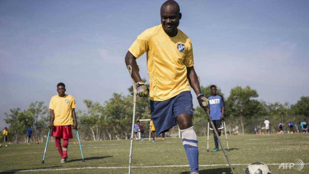 Haiti's Amputee Footballers Seek Glory Abroad, Acceptance At Home