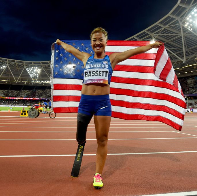 Paralympian Competes To Inspire Others